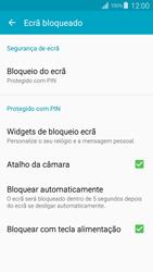 Samsung Galaxy S4 LTE - Segurança - Como ativar o código de bloqueio do ecrã -  13