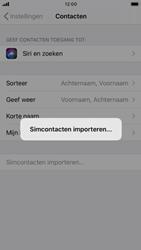 Apple iphone-8-met-ios-13-model-a1905 - Contacten en data - Contacten kopiëren van SIM naar toestel - Stap 5