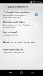 Sony D2203 Xperia E3 - Red - Seleccionar el tipo de red - Paso 8