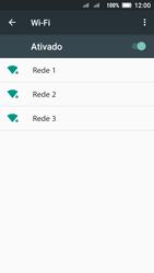 Lenovo Vibe C2 - Wi-Fi - Como configurar uma rede wi fi - Etapa 6