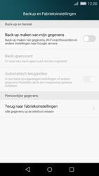 Huawei P8 Lite - Toestel reset - terugzetten naar fabrieksinstellingen - Stap 4
