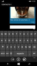 Microsoft Lumia 535 - Mensajería - Escribir y enviar un mensaje multimedia - Paso 14