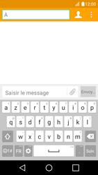 LG K4 - Contact, Appels, SMS/MMS - Envoyer un SMS - Étape 5