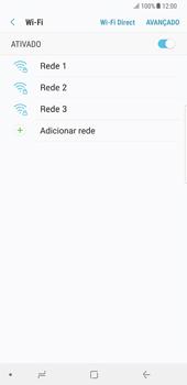 Samsung Galaxy Note 8 - Wi-Fi - Como ligar a uma rede Wi-Fi -  7