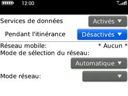 BlackBerry curve 3G - Aller plus loin - Désactiver les données à l'étranger - Étape 7