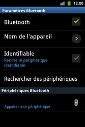 Samsung S5830i Galaxy Ace i - Bluetooth - connexion Bluetooth - Étape 10
