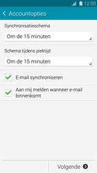 Samsung G900F Galaxy S5 - E-mail - Handmatig instellen - Stap 18