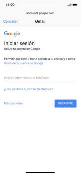 Apple iPhone X - E-mail - Configurar Gmail - Paso 6