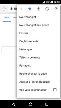 Sony Xperia Z5 Premium (E6853) - Android Nougat - Internet - Navigation sur Internet - Étape 12