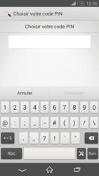 Sony Xperia Z3 Compact - Sécuriser votre mobile - Activer le code de verrouillage - Étape 7