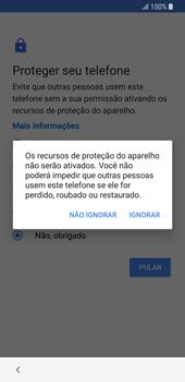 Samsung Galaxy S9 - Primeiros passos - Como ativar seu aparelho - Etapa 17