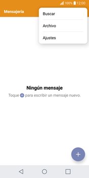 LG Q6 - Mensajería - Configurar el equipo para mensajes de texto - Paso 4