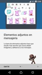 Sony Xperia E5 (F3313) - Mensajería - Escribir y enviar un mensaje multimedia - Paso 4