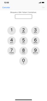 Apple iPhone XR - Segurança - Como ativar o código PIN do cartão de telemóvel -  6