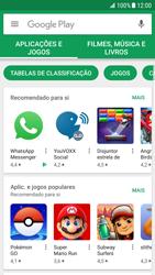 Samsung Galaxy S6 Edge - Android Nougat - Aplicações - Como pesquisar e instalar aplicações -  4