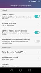 Huawei Honor 5X - Internet - Désactiver du roaming de données - Étape 6