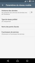 Sony Sony Xperia X (F5121) - Réseau - Changer mode réseau - Étape 8