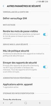 Samsung Galaxy Note 9 - Sécuriser votre mobile - Personnaliser le code PIN de votre carte SIM - Étape 6