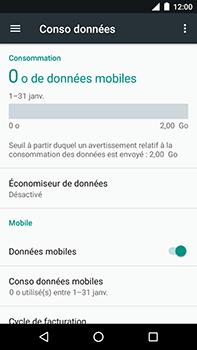 Motorola Moto E4 Plus - Internet et connexion - Désactiver la connexion Internet - Étape 5