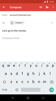 Nokia 8 Sirocco - E-mail - Sending emails - Step 8
