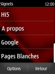 Nokia Asha 300 - Internet - navigation sur Internet - Étape 12