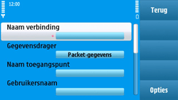 Nokia N97 - MMS - handmatig instellen - Stap 15