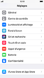 Apple iPhone SE - iOS 12 - Appareil - Restauration d