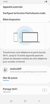 Samsung Galaxy S9 Plus - Android Pie - Internet - comment configurer un point d'accès mobile - Étape 9