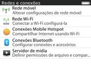 BlackBerry 9620 - Wi-Fi - Como configurar uma rede wi fi - Etapa 5