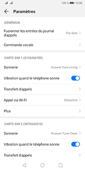 Huawei Mate 10 Pro Android Pie - Messagerie vocale - Configuration manuelle - Étape 5