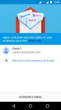 Motorola Moto Z2 Play - Email - Como configurar seu celular para receber e enviar e-mails - Etapa 12