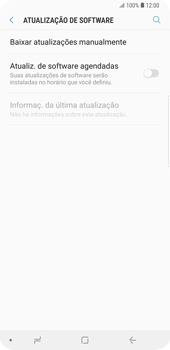 Samsung Galaxy S9 Plus - Funções básicas - Como atualizar o software do seu aparelho - Etapa 5