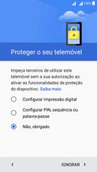 Sony Xperia X Dual SIM (F5122) - Primeiros passos - Como ligar o telemóvel pela primeira vez -  14