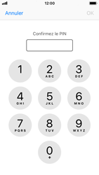 Apple iPhone SE - iOS 11 - Sécuriser votre mobile - Personnaliser le code PIN de votre carte SIM - Étape 10
