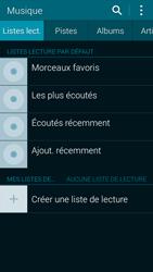 Samsung Galaxy Alpha - Photos, vidéos, musique - Ecouter de la musique - Étape 4