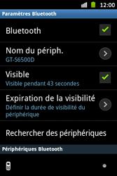 Samsung S6500D Galaxy Mini 2 - Bluetooth - connexion Bluetooth - Étape 8
