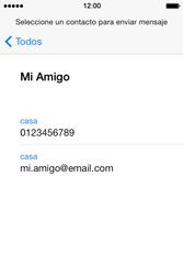Apple iPhone 4S iOS 7 - Mensajería - Escribir y enviar un mensaje multimedia - Paso 6