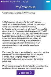 Apple iPhone 4 S iOS 9 - Applications - MyProximus - Étape 12