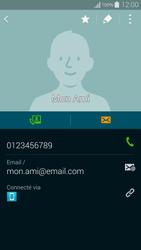 Samsung Galaxy Alpha - Contact, Appels, SMS/MMS - Ajouter un contact - Étape 12
