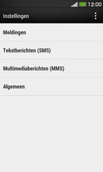HTC Desire 500 - SMS - handmatig instellen - Stap 5