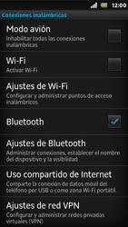 Sony Xperia U - Funciones básicas - Activar o desactivar el modo avión - Paso 5