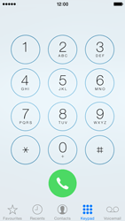 Apple iPhone 5 iOS 8 - Voicemail - Manual configuration - Step 3