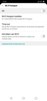 LG g7-thinq-lm-g710em - WiFi - Mobiele hotspot instellen - Stap 5