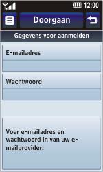 LG KM900 Arena - E-mail - Handmatig instellen - Stap 10