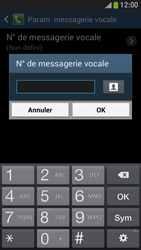 Samsung I9195 Galaxy S IV Mini LTE - Messagerie vocale - Configuration manuelle - Étape 8