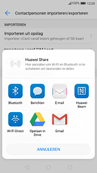 Huawei P9 - Android Nougat - Contactgegevens overzetten - delen via Bluetooth - Stap 8