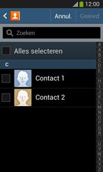 Samsung I8200N Galaxy S III Mini VE - Contacten en data - Contacten kopiëren van toestel naar SIM - Stap 7