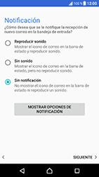 Sony Xperia XZ - Android Nougat - E-mail - Configurar correo electrónico - Paso 22