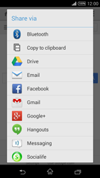 Sony Xperia T3 - Internet - Internet browsing - Step 21