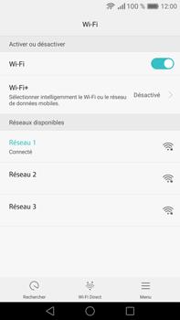 Huawei Mate 8 - Wi-Fi - Se connecter à un réseau Wi-Fi - Étape 7